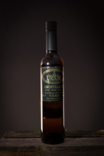 Sherry Urium Amontillado VORS 50 cl